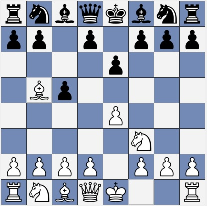 Black to move in a Sicilian opening